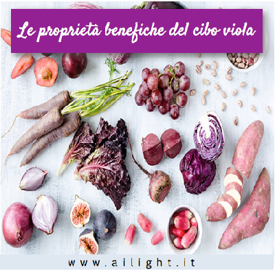 Dieta a Colori, i benefici dei cibi Blu-Viola