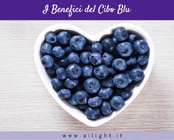 Color food # 6 - I colori a tavola - Blu: cibo della salute