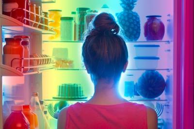 Fame di Colore: non ci nutriamo solo di cibo, ma anche di luce!